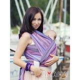 Слинг-шарф Амама Табатай фиолетовый полосатый