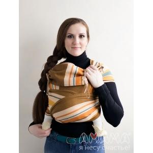 Май-слинг Амама Табатай коричневый полосатый