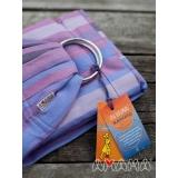 Слинг с кольцами Амама Табатай фиолетовый полосатый