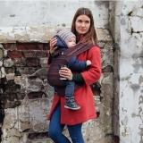 Слинг-рюкзак Карауш Coffe растущий беби