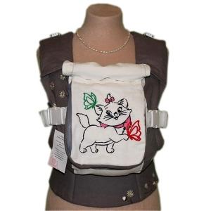 Эрго-рюкзак Тедди слинг ЛЮКС Кэт с ромашками
