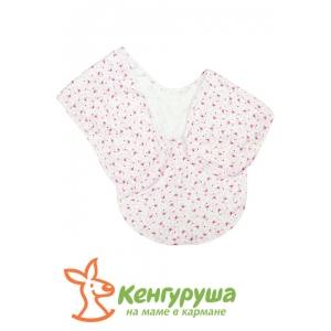 Чудо-пеленка Кенгуруша (розовые щенята)