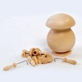 Бирюльки большие в грибке некрашенном