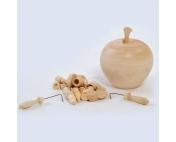 Бирюльки в яблочке некрашенном