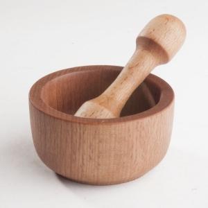Ступка деревянная