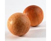 Тактильные можжевеловые шарики гладкие