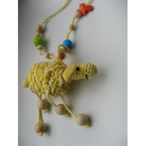 Погремушка-грызунок Солнечная овечка