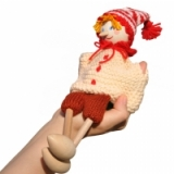 Буратино (перчаточная кукла)