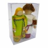 Две народные куклы