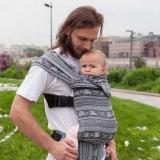 Слинг-рюкзак Карауш Kuzma Graphite растущий стандарт