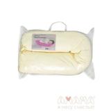 Подушка Легкая на подъем, розовый горошек