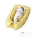 Подушка-бортик детская для сна, Баюленок, желтая ночка