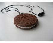 """Грызунок-подвеска """"Печенье"""" шоколадное"""
