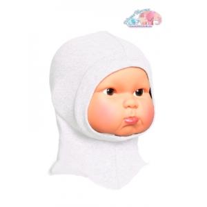 Шлем трикотажный Молочный