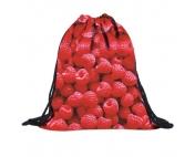 Сумка-рюкзак с принтом Малина