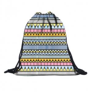 Сумка-рюкзак с принтом Этно