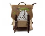 Крафтовый рюкзак Тоторо под папку А-4