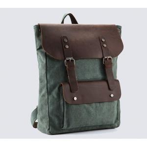 Крафтовый рюкзак Зеленый город