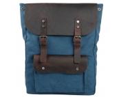 Крафтовый рюкзак Синий город