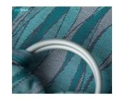 Слинг с кольцами Velina жаккардовый волны петрол