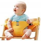 Дорожный стульчик Light mini желтый