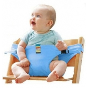 Дорожный стульчик Light mini голубой