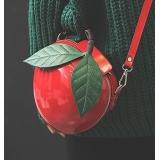 Сумочка через плечо Красное яблоко