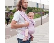 Слинг-рюкзак Karaush Kuzma Pink растущий беби