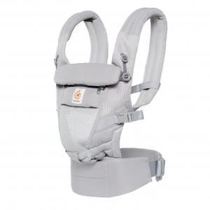 Adapt Ergo Baby Carrier Cool Air Mesh - Pearl Grey