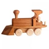 Паровоз деревянный