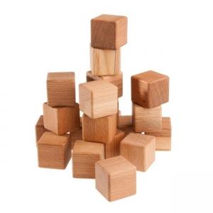 Кубики 20шт. буковые