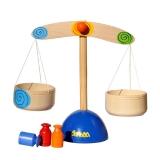 Деревянные игрушечные весы