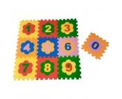"Детский развивающий  коврик-пазл ""Цифры"" 10 дет., 33х33х0,9 см"