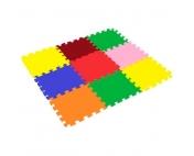 Мягкий пол Ассорти 33x33x0,9 см (9 плит)