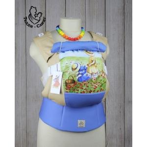 Эрго-рюкзак Тедди слинг ЛЮКС Детское настроение маки стандарт