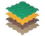 Модульный коврик Шишки (мягкий)