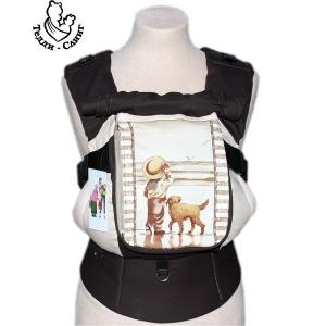 Эрго-рюкзак Тедди слинг ЛЮКС Детское настроение с собакой