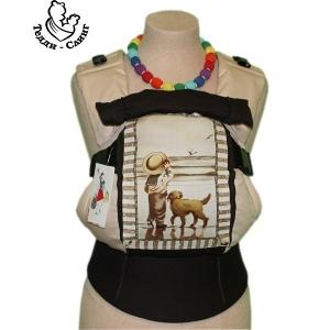Эрго-рюкзак Тедди слинг ЛЮКС Детское настроение с собачкой