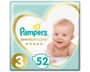 Подгузники Pampers Premium Care 3 6-10кг 52шт