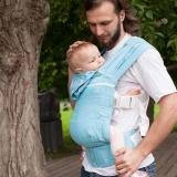 Слинг-рюкзак Карауш Kuzma Ocean растущий беби