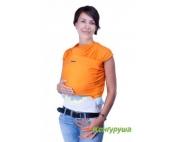 Трикотажный слинг-шарф Кенгуруша Classic оранжевый
