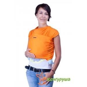 Трикотажный слинг-шарф Кенгуруша Classic апельсин