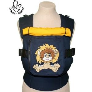 Эрго-рюкзак Тедди слинг ЛЮКС Я на солнышко гляжу темно-синий