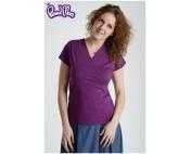 Блуза для кормящих Сакура фиолетовая