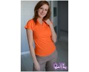 """Блуза для кормящих """"Сакура"""" оранжевая"""