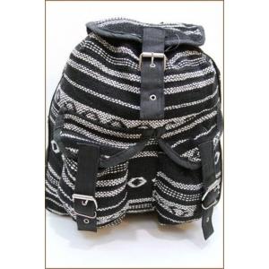 Сумка-рюкзак черно-белый