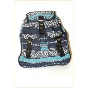 Сумка-рюкзак синий + голубой