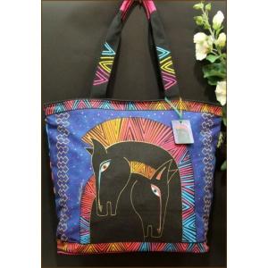 Сумка Лошадь радуга L