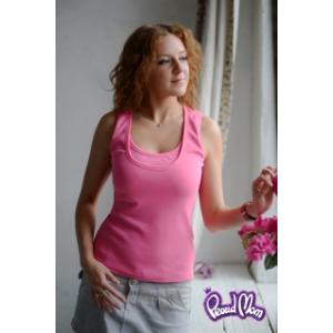Майка для кормящих «Легкость бытия» розовая