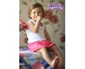 Детская маечка «Легкость бытия» белая